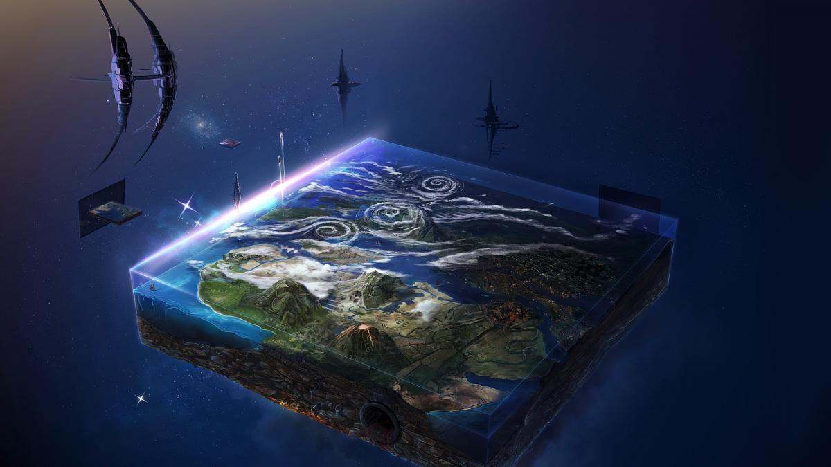 Así sería el mundo si la Tierra fuese plana | Noticias de Divulgación en  Heraldo.es