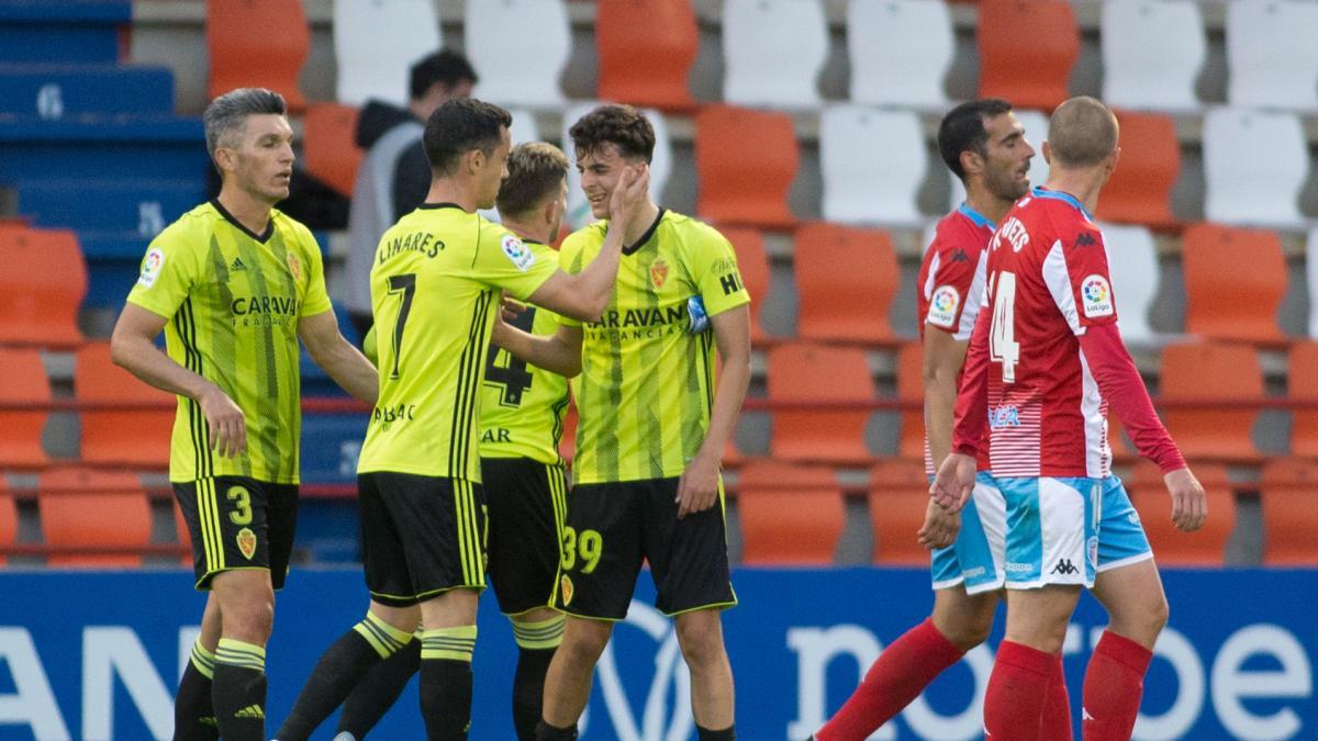 Fotos del partido Lugo-Real Zaragoza, en el Anxo Carro