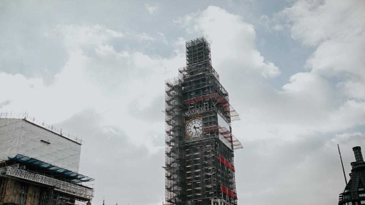 El Tejado Del Big Ben Volverá A Ser Visible Después De Tres Años De Obras