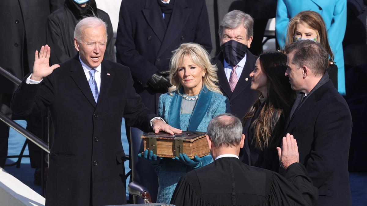 Juramento de Biden