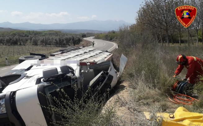 Accidente mortal en la N-122