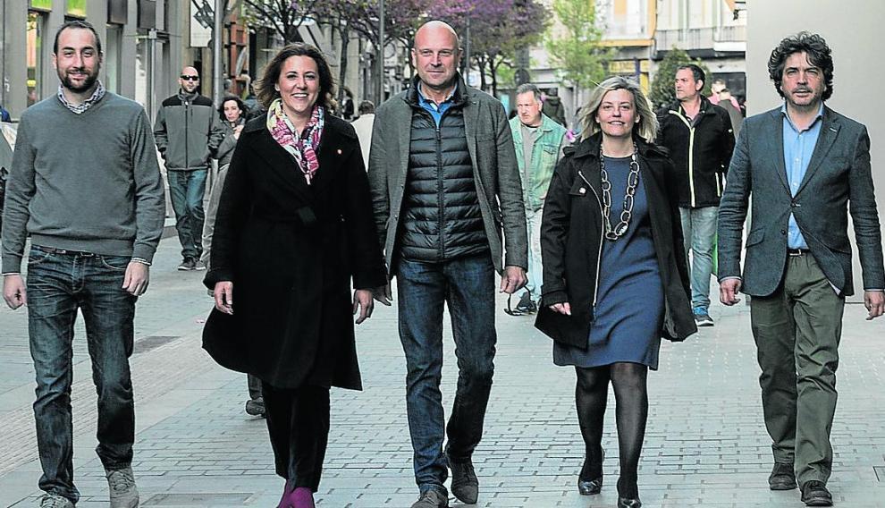 Candidatos por Huesca a las elecciones generales 2019 / 10-4-19 / Foto Rafael Gobantes [[[FOTOGRAFOS]]]