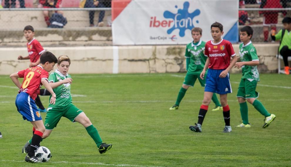 Imagen de un partido de la anterior edición del Trofeo San Jorge