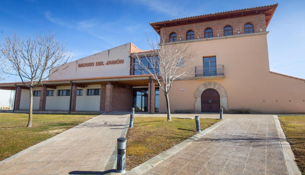 Parte exterior del Museo del Jamón de Calamocha.