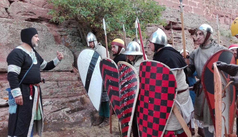 Recreaciones medievales en Peracense.