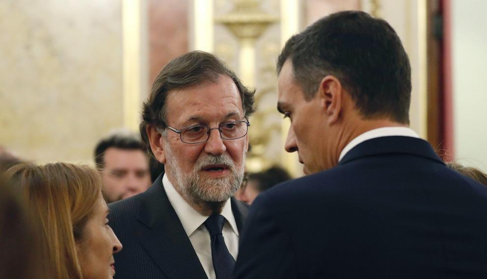 El Congreso despide a Alfredo Pérez Rubalcaba.
