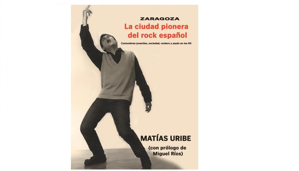 Portada del libro 'Zaragoza. Ciudad pionera del rock español'.