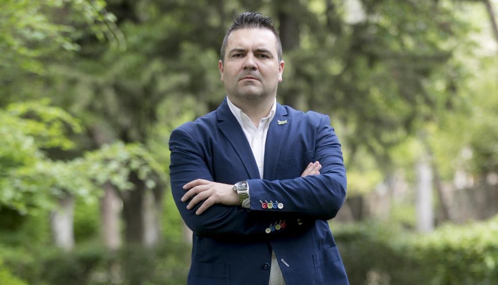 Candidato de Vox al Ayuntamiento de Huesca, Antonio Laborda.