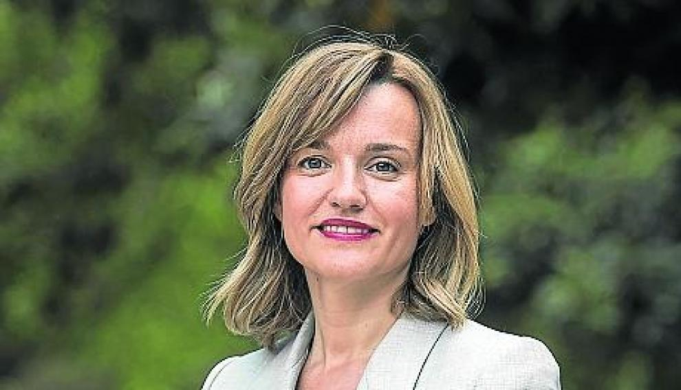 PILAR ALEGRIA ( CANDIDATA A LA ALCALDIA DE ZARAGOZA POR EL PSOE ) / ELECCIONES MUNICIPALES 2019 / PASEO DE LA CONSTITUCION ( ZARAGOZA ) / 10/05/2019 / FOTO : OLIVER DUCH [[[FOTOGRAFOS]]]