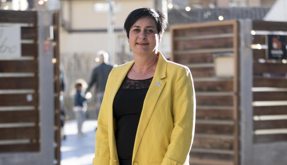 Candidata de CHA al ayuntamiento de Huesca, Sonia Alastruey