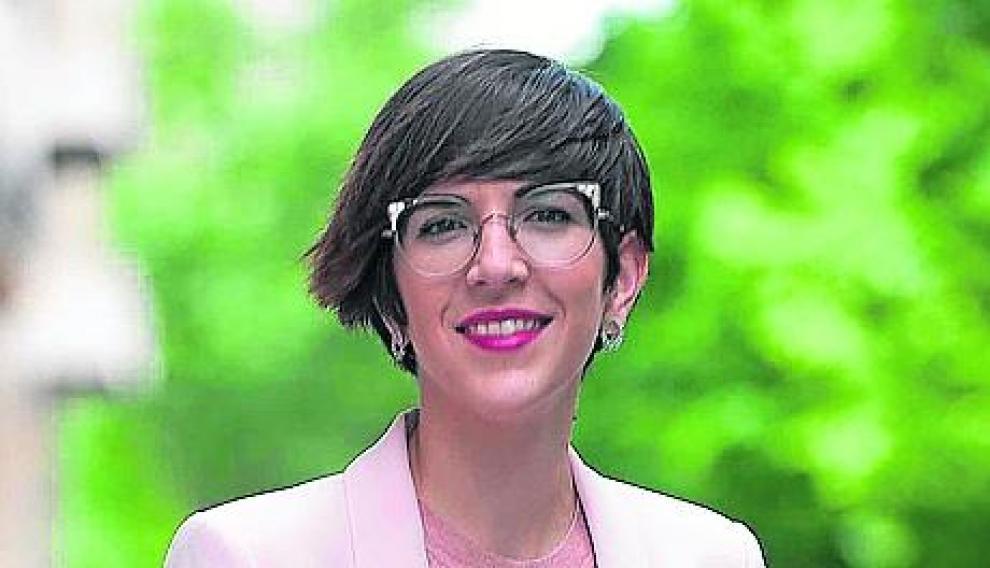 Violeta Barba, candidata al Ayuntamiento de Zaragoza por Podemos Equo.