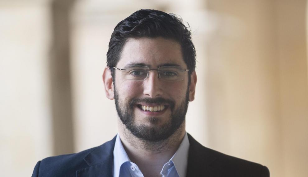 Alejandro Nolasco, candidato de VOX a la Alcaldia de Teruel en las elecciones municipales.