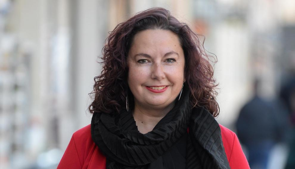 Anabel Gimeno candidata por Ganar Teruel de Izquierda Unida/2019-05-04/ Foto: Jorge Escudero [[[FOTOGRAFOS]]]