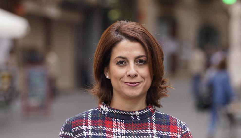 Emma Buj, candidata por el PP a la alcaldía del ayuntamiento de Teruel en las próximas elecciones municipales.