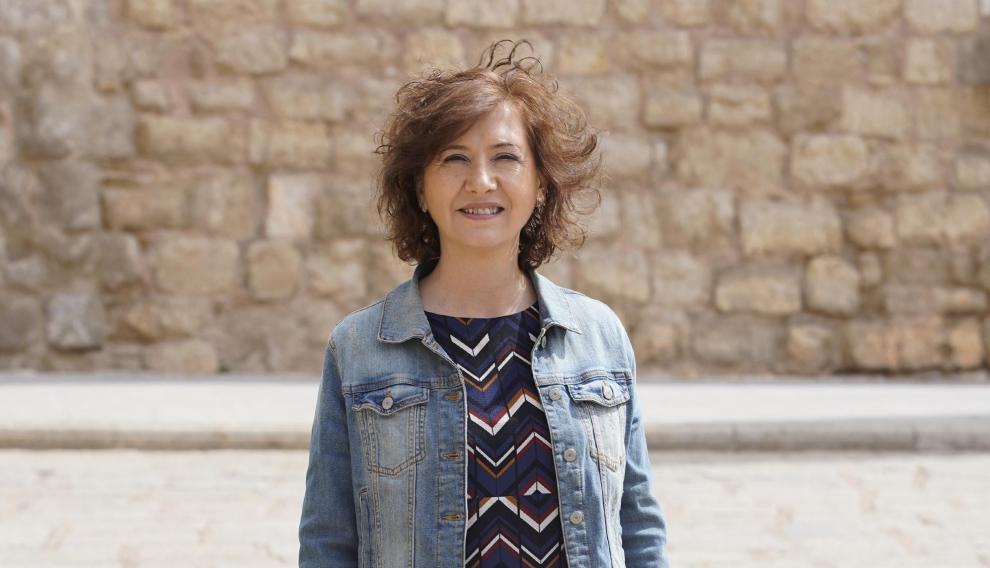 Marisa Romero, candidata por CHA a la alcaldía del ayuntamiento de Teruel.