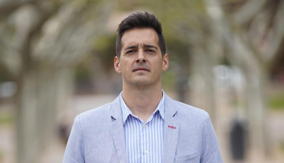 Ramón Fuertes, candidato de Cs a la Alcaldia de Teruel en las elecciones municipales.