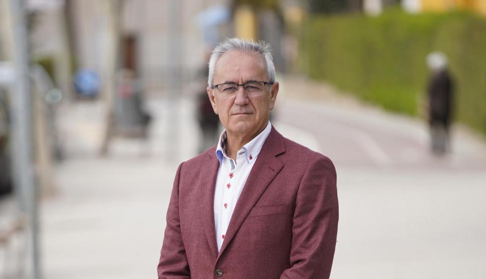 Candidato del PSOE a la Alcaldia de Teruel, Samuel Morón.