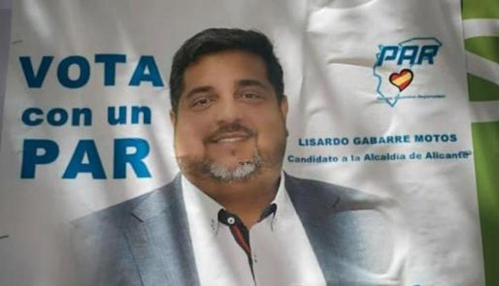 Un cartel del artido Alicantino Regionalista
