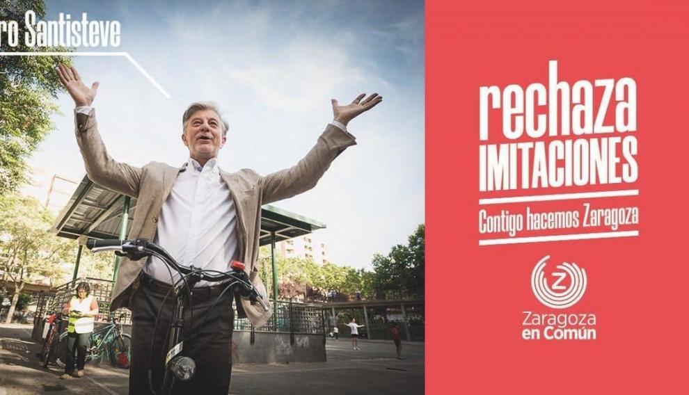 Una de las imágenes difundidas por ZEC tras la publicación de Podemos