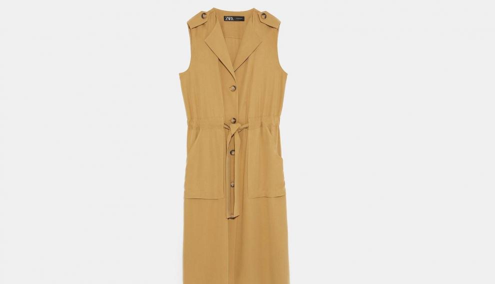 Vestido Chaleco Zara