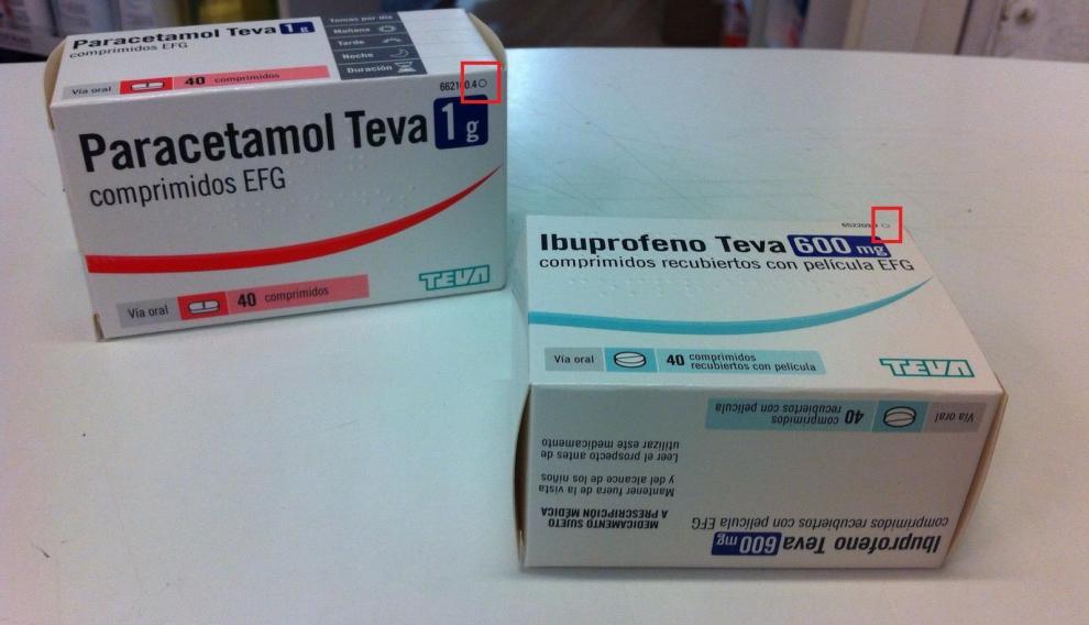 El círculo en la parte superior de las cajetillas indica la prohibición de dispensar estos medicamentos sin receta médica.