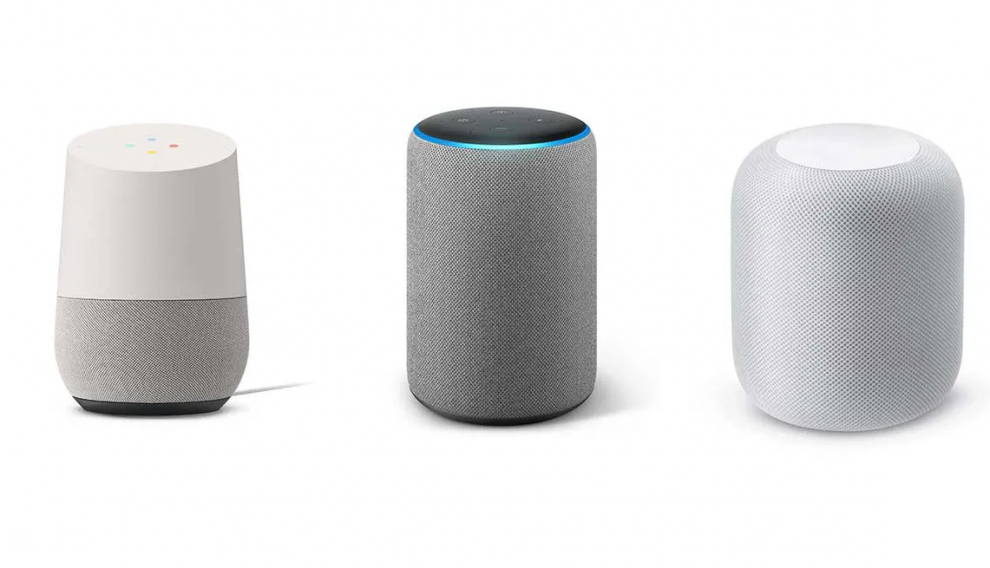 Amazon Alexa, Google Assistant y Siri de Apple