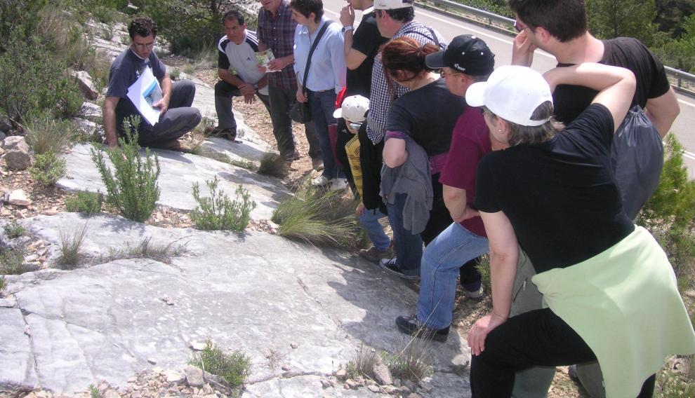 Yacimiento de icnitas de Abenfigo.