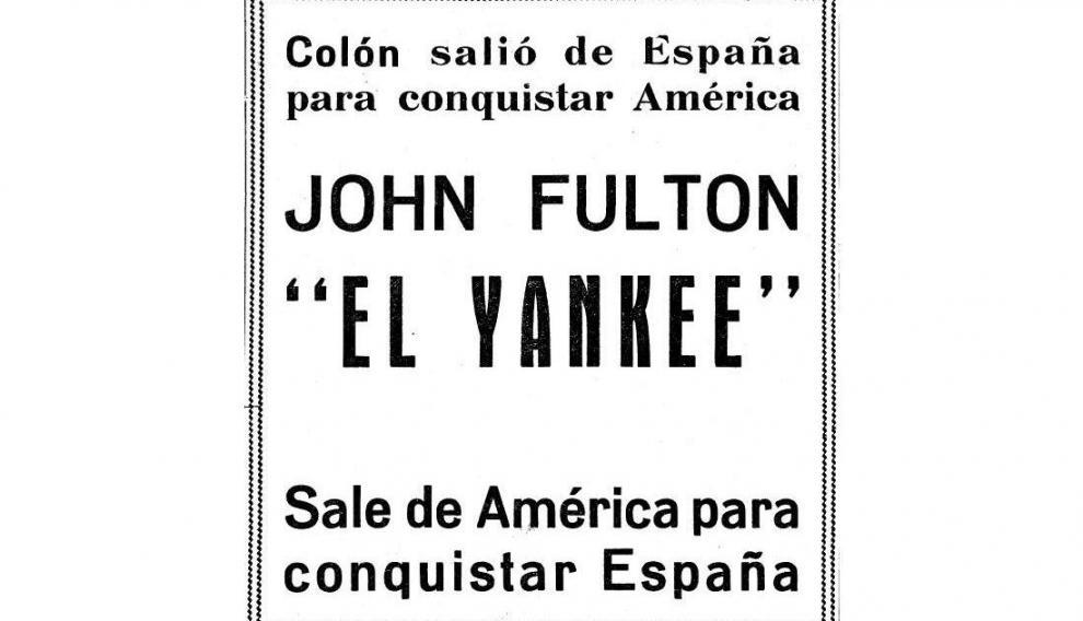 Anuncio publicado en HERALDO, en 1958