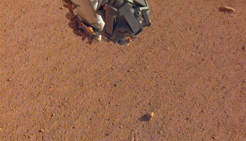 La piedra de los Rolling Stones en Marte.