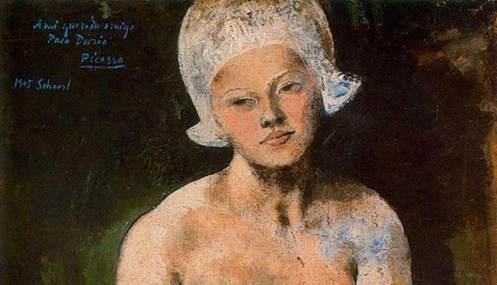 'La bella holandesa', Pablo Picasso, 1905