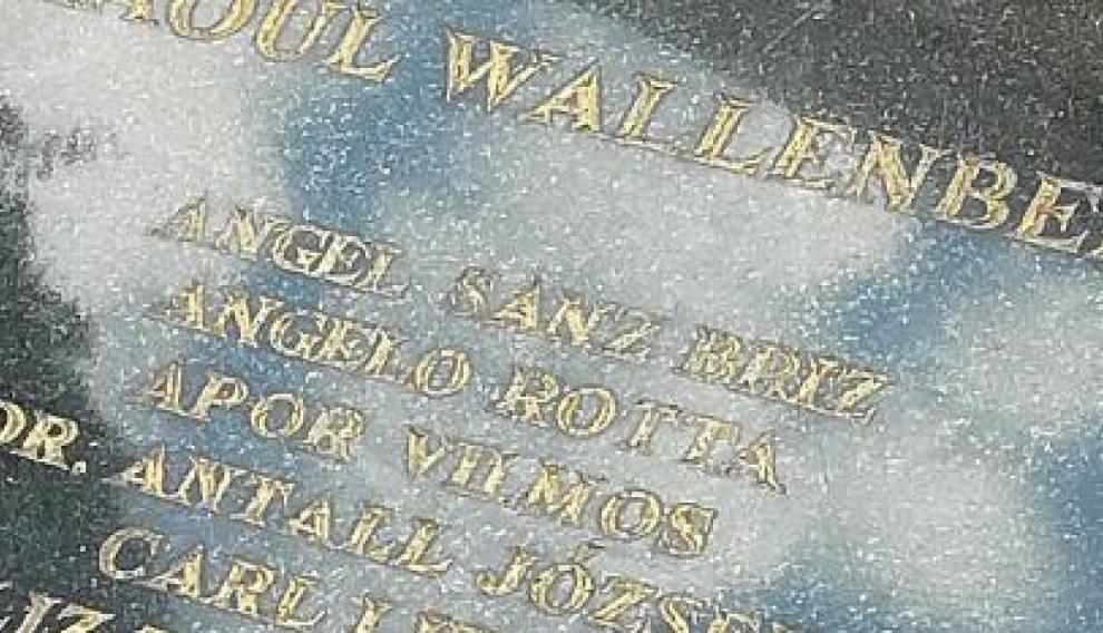Angel Sanz Briz es recordado en la Gran Sinagoga de Budapest junto al diplomático sueco Raoul Wallenberg