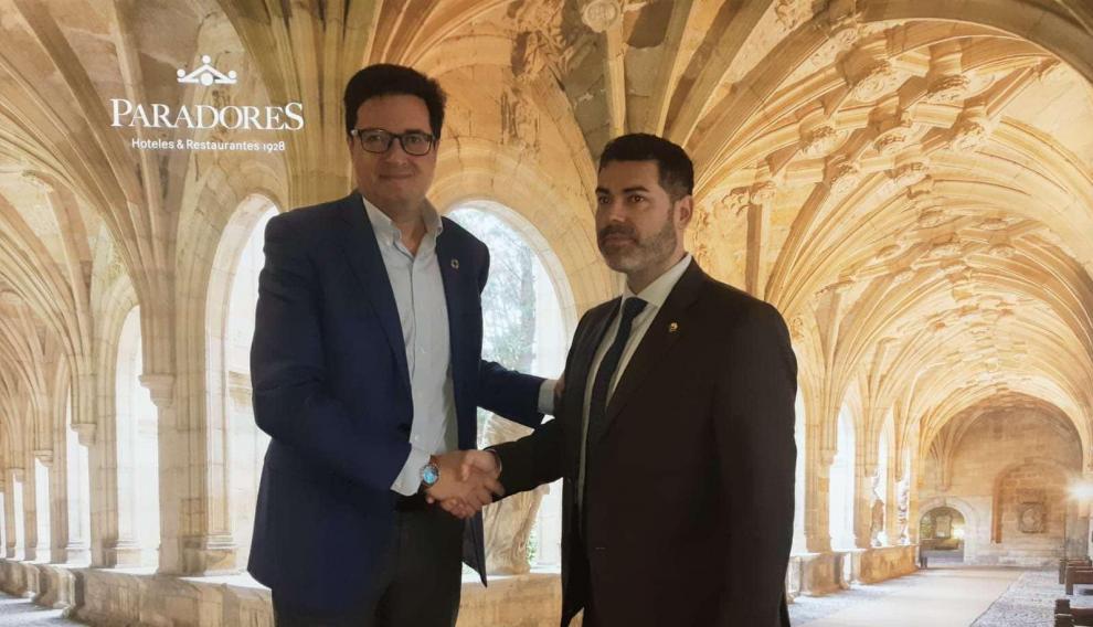 Acuerdo entre Paradores y la Asociación Los Pueblos más Bonitos de España.