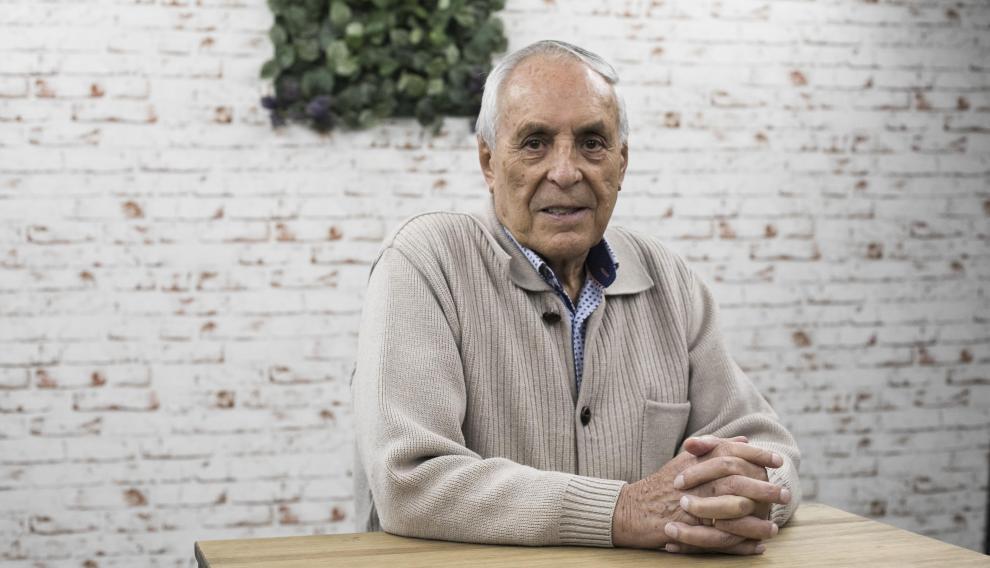 José Solanas, pensionista.