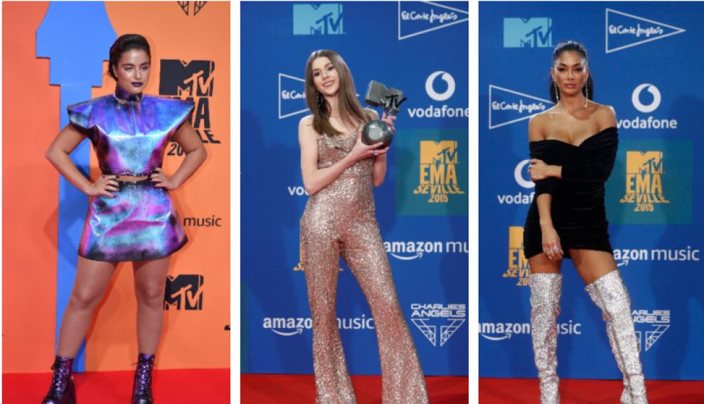 Noa Kimel, Roksana Vegiel y Nicole Scherzinger, deslumbrantes, literalmente.