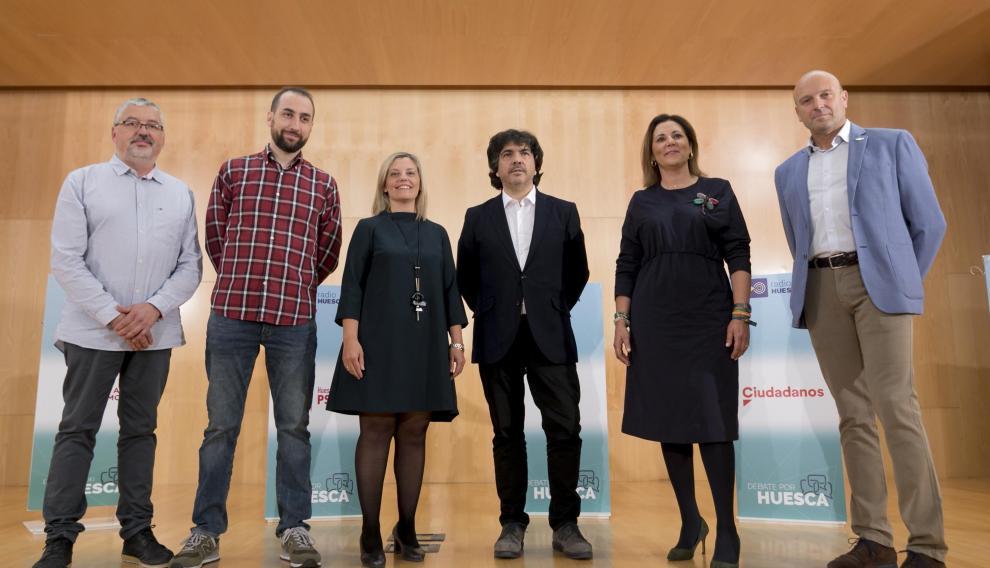 Candidatos al Congreso por Huesca.