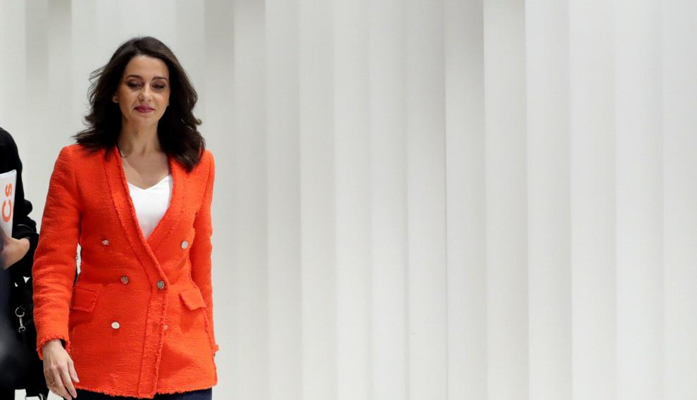 La candidata al Congreso por Barcelona, Inés Arrimadas,