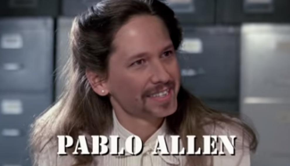 Pablo Iglesias es Amanda Allen