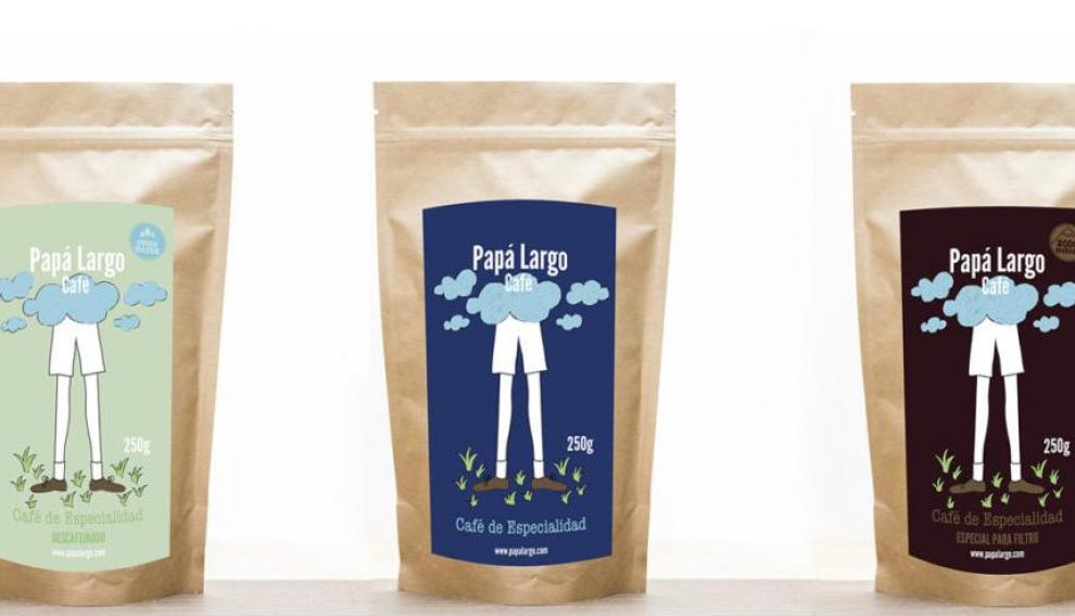 La nueva marca zaragozana de café, Papa Largo.