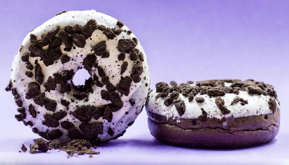 Rosquilla de galletas Oreo