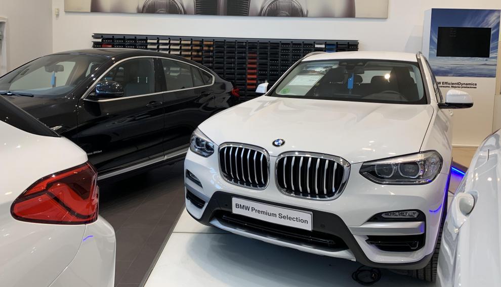 El BMW X3 xDrive20d es uno de los modelos que entran en esta promoción del Black Friday.