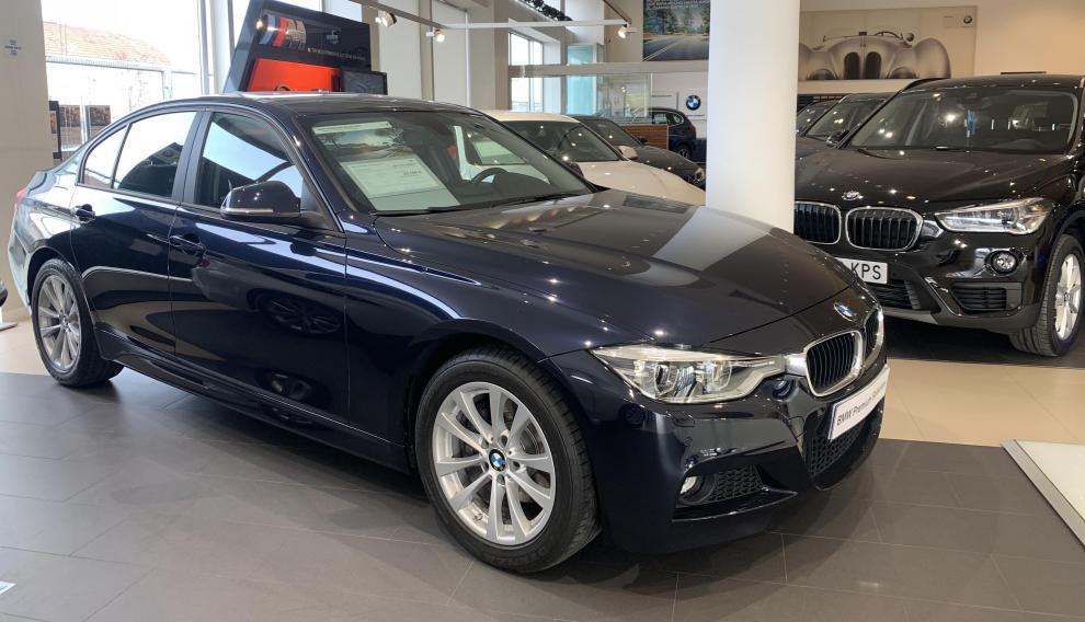El BMW Serie 320d es otro de los vehículos que entran en el 'Black Friday by Special Days' de Goya Automoción.