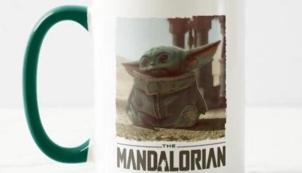 Uno de los objetos sobre 'Baby Yoda' que acaba de lanzar Disney.