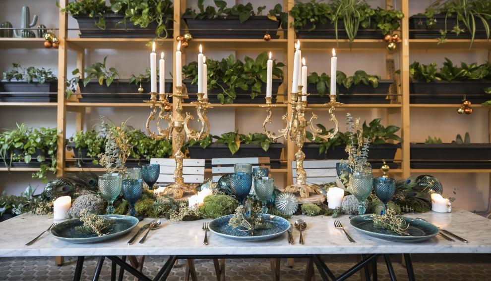 "Una mesa navideña ""inspiradora"" fuera de tópicos"