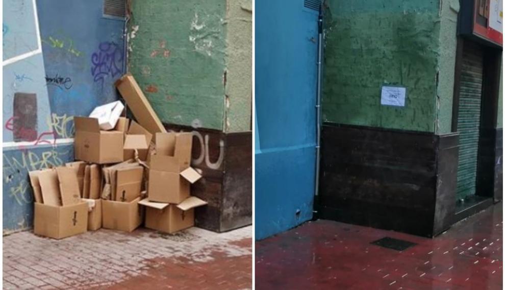 El antes y después de esta esquina del Casco Viejo