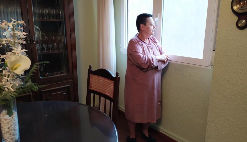 María José López, vecina del edificio, recuerda esa noche del incendio de la Flying.