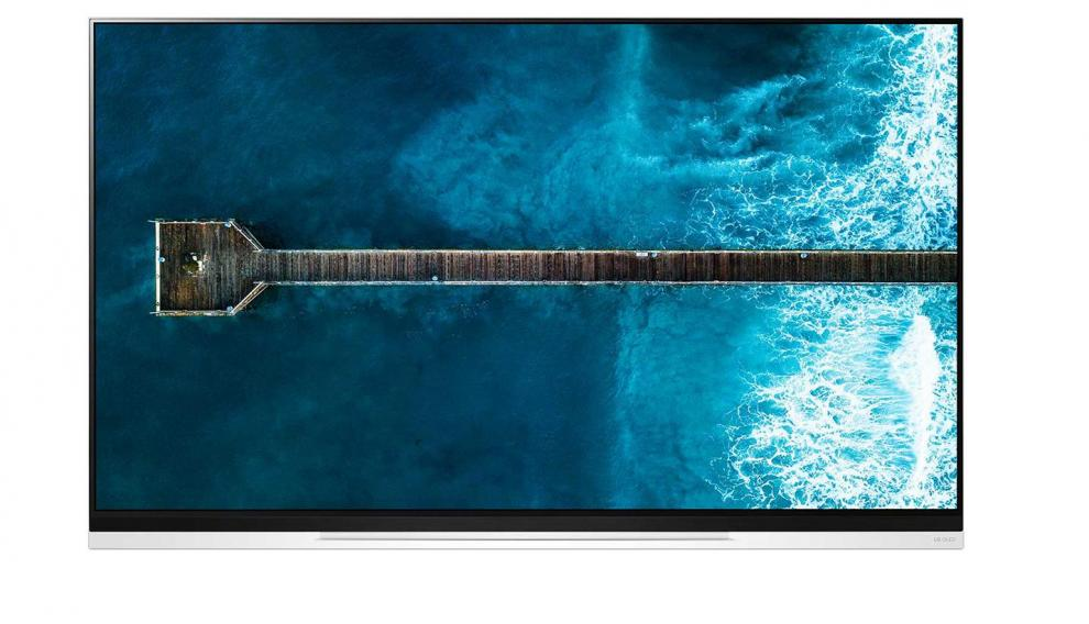 El LG E9 tiene uno de los diseños más minimalistas del mercado.