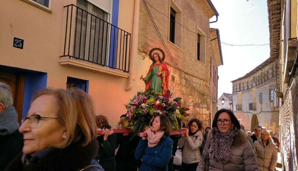 Festividad de Santa Águeda en Fonz