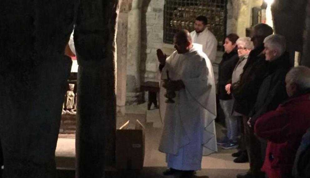 Celebración de San Valero en Roda de Isábena.