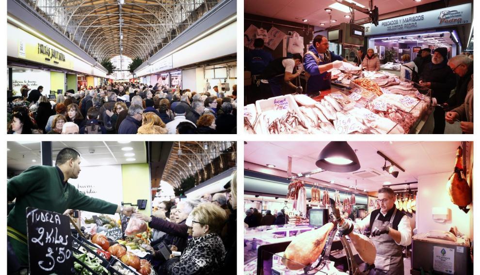 Primer día del Mercado Central tras su inauguración