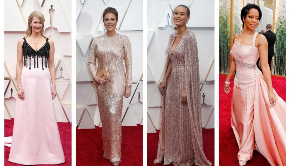 Laura Dern,, Rita Wilson, Brie Larson y Regina King.